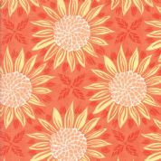 Grand Canal by Kate Spain - 5056 - Sunflowers in Yellow and Orange - 27251 17 - Cotton Fabric